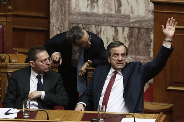 Греция приняла бюджет