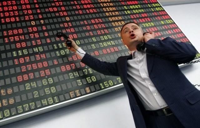 Падение российского рынка акций