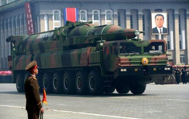 Баллистическая ракета КНДР